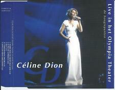 CELINE DION - live in het Olympia Theater CDM PROMO 5TR 1997 HOLLAND