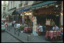116017 Restaurant In St Germain Des Pres Paris A4 Photo Print