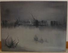 Étang au Crépuscule 1954 - ROGER COMTE (1913-2006)