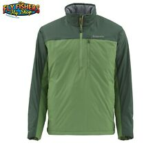 Simms Fishing Midstream Insulated Pull-Over Jacket Spinach  XL - NEW DISCOUNTED