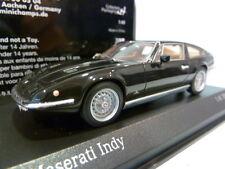 Rare Minichamps 1:43 Maserati Indy 1970 Black 437123121