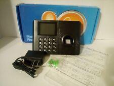 Standalone Employee Attendance Time Clock Biometric Fingerprint Payroll Device A