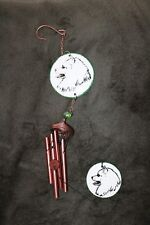 Japanese Spitz Large Wind Chime - New - Must L@K! - Last One!