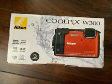 Nikon COOLPIX W300 16.0MP Digitalkamera -Unter Wasser Kamera Orange OVP Neu