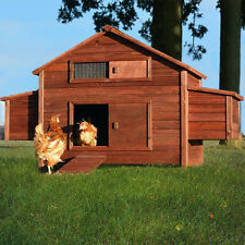 Zooprimus Hühnervoliere 129 Freilandfarm XXL Hühnerhaus Hühnerstall Gefügelstall