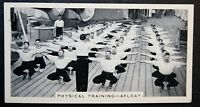 HMS Royal Sovereign   Royal Navy Physical Training  Vintage Photo Card  # VGC