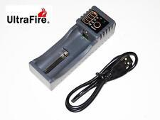 Nuevo Ultrafire WF-118 LED USB Cargador de batería (AA/AAA/26650/18650/16340)