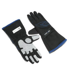 NRG INNOVATIONS GS-500BK PAIR LARGE SIZE L DOUBLE LAYER RACE CAR DRIVER GLOVES
