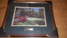 Augusta The Thirteenth Hole by Noble Powell III Framed Lithograph Print