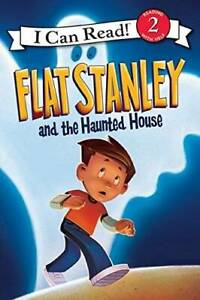 Flat Stanley and the Haunted House (I Can Read!, Level 2) - Paperback - GOOD