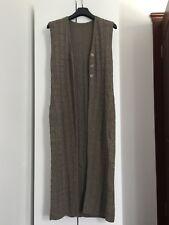 100% Wool Full-length Tunic / Cardigan 10-12