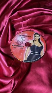 Kim Kardashian Fit In Your Jeans By Friday Butt Blasting Cardio Step DVD ONLY