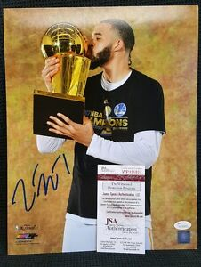 JAVALE MCGEE Autographed Golden State Warriors 11x14 Photo.WITNESSED JSA