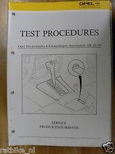 OP12-OPEL ELECTRONISCHE 4-VERSN. AUTOMATIEK AR25/35