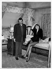 Photo originale Françoise Dorléac Arsène Lupin contre Arsène Lupin