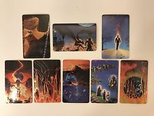 PROMO CARDS: CHAMPS MANUFACTURING Sample Phone Cards: 8 DIFFERENT White & Maitz