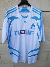 VINTAGE Maillot OM MARSEILLE ADIDAS Climacool football shirt collector XL