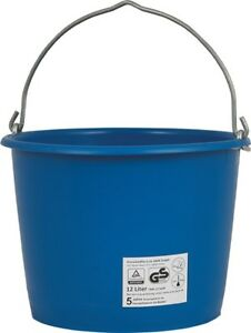 Baueimer Blau - kranbar - 12 Liter - 20 Liter - 40 Liter - TÜV - Eimer