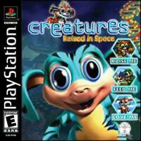 Creatures Raised in Space Playstation 1 Game PS1 Used