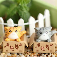 Sell Well Miniature Little Cat Figure Decoration Fairy Statue Resin Random Color