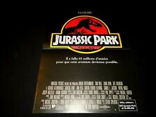 JURASSIC PARK  steven spielberg   ! affiche cinema dinosaure