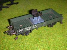detail ho -  FLEISCHMANN WAGON PORTE FLECHE grue KRUPP ARDELT 90t  ho 1/87