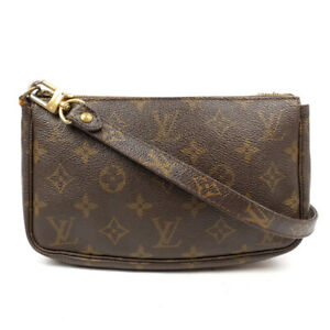 LOUIS VUITTON Shoulder Bag Pochette M40712 Monogram Brown M40712