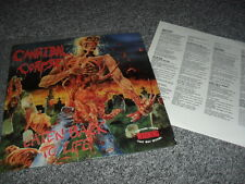 CANNIBAL CORPSE -EATEN BACK TO LIFE- AWESOME RARE ORIGINAL 1ST PRESS MFN FRANCE