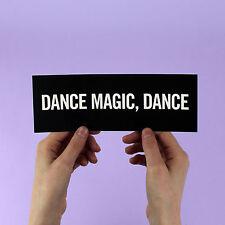 "David Bowie Sticker! ""Dance Magic Dance"" Labyrinth, Jennifer Connelly, Jareth"