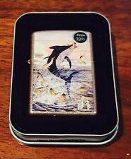 "Zippo Lighter Gut Harvey ""Flying Fish"" 2008 Design"