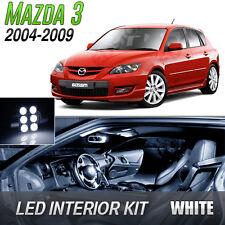 2004-2009 Mazda 3 White LED Lights Interior Kit MazdaSpeed 3