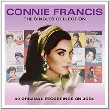 The Singles Collection by Connie Francis (CD, Aug-2015, 3 Discs, Not Now UK)