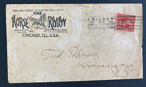 1900 Chicago IL USA Commercial Cover To Hammond NY