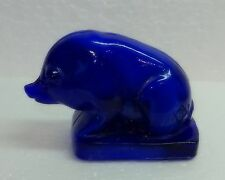 Boyd Glass Suee the Pig Olympic Blue