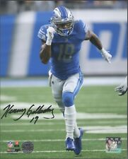 Kenny Golladay Signed 8x10 Photo Detroit Lions Running ~ Golladay Authentic Auto