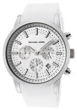 Michael Kors Silver Strap Unisex Wristwatches