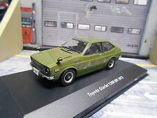 TOYOTA Starlet 1200 ST 1200ST Kleinwagen 1973 grün green olive IXO 1:43