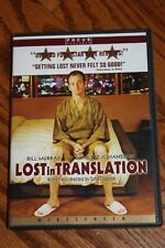 Lost in Translation (DVD, 2004) Bill Murray, Scarlett Johansson, Sofia Coppola