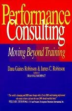 Performance Consulting, Robinson, Dana Gaines, Very Good Books