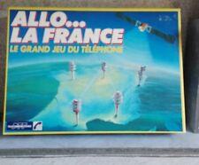 Jeu société Allo la France le grand jeu du téléphone 1986 Vintage