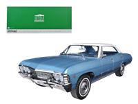 1967Chevrolet Impala Sport Sedan 4Doors Nantucket Blue with White Top 1/18 Model