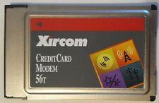 Xircom Pcmcia 56K modem with Cable