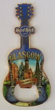 Hard Rock Cafe Glasgow City Fridge Magnet/Bottle Opener New