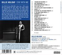 BILLIE HOLIDAY - STAY WITH ME   CD NEW