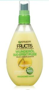"""Garnier Fructis Duo-Effect Care Oil Hair Treatment / Intensive """"leave in"""" Oil"""