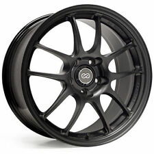 "ENKEI PF01 17x7"" Racing Wheel Wheels 4x100 Offset 38 Matte Black"