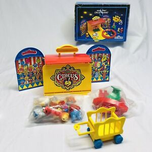 Vintage Sesame Street Circus Playset 1993 TYCO Toy Big Bird Characters Open Box
