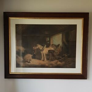 Antique Framed Mezzotint Engraving by William Ward  (1726-1826)
