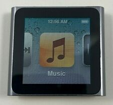 Apple iPod Nano 6th Generation Graphite - 8 GB - WORKS - PLEASE READ