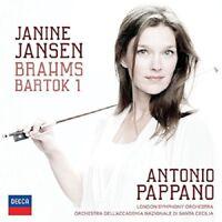 JANINE/PAPPANO/LSO JANSEN - BRAHMS & BARTOK  CD NEU BRAHMS,JOHANNES/BARTOK,BELA